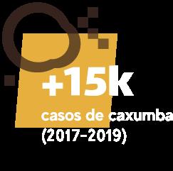 Mais de 15 mil casos de caxumba (2017-2019)